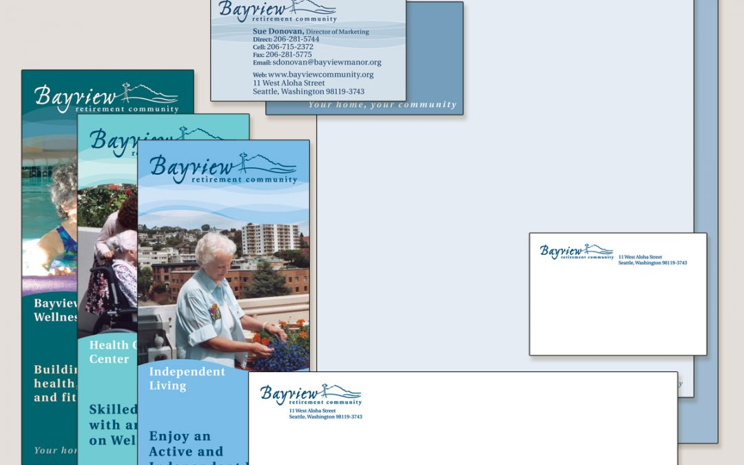 Bayview Retirement identity package