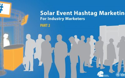 Solar Event Hashtag Marketing, Part II