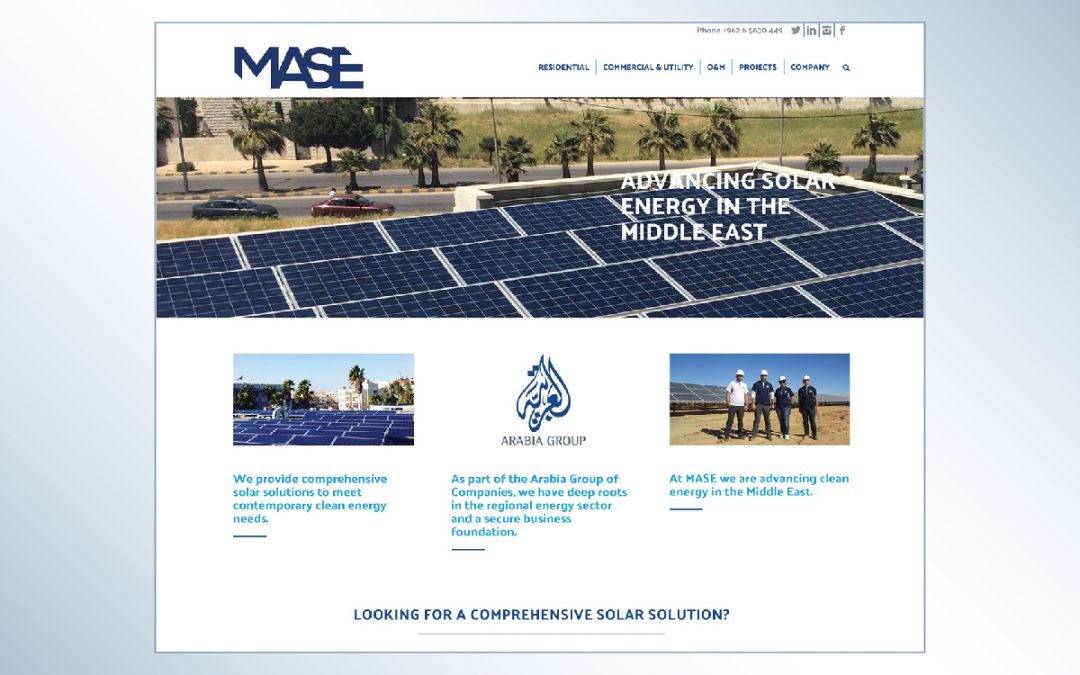 MASE | Website Design