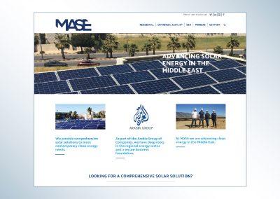 MASE | Website Design